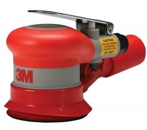 Купить 20315 Пневматическая орбитальная машинка 3M™ Self-Generated Vacuum Random Orbital Sander с внешним пылеотводом, диам. 75мм, эксцентрик 2,5мм - Vait.ua