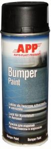Купить Краска для бамперов в аэрозоли <APP Bumper Paint>, черная - Vait.ua