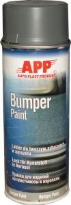 Купить 210406 Бамперная структурная краска аэрозольная APP Bumper Paint - New Line, 400мл, темно-серая - Vait.ua