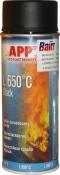 210431 Жаростойкая аэрозольная эмаль APP L 650°С, черная (400 мл)