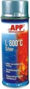 210433 Жаростойкая аэрозольная эмаль APP L 800°С, серебристая (400 мл)
