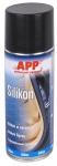 212007 Средство силиконовое (силикон) APP Silikon в аэрозоле, 400 мл
