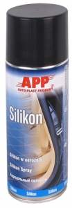 Купить 212007 Средство силиконовое (силикон) APP Silikon в аэрозоле, 400 мл - Vait.ua