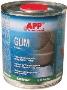 Купить 220136 Быстросохнущий препарат для удаления клея, резины и смолы APP GUM Remover, 1л - Vait.ua