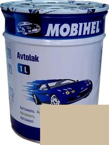 """Купить 235 Алкидная однокомпонентная автоэмаль Mobihel """"Бежевая"""", 1л - Vait.ua"""