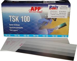 Купить 250601 Тест-карты картонные <АРР APP TSK 100> (упаковка 100 шт.)  - Vait.ua