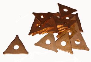 Купить Треугольники сварочные омеднённые Tecna для споттера - Vait.ua
