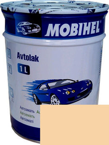 """Купить 295 Алкидная однокомпонентная автоэмаль Mobihel """"Сливочно-белая"""", 1л - Vait.ua"""