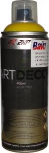 Купить Акриловая аэрозольная эмаль 2XP ART DECO RAL-1023 желтая, 400 мл - Vait.ua