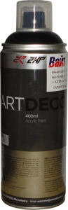 Купить Акриловая аэрозольная эмаль 2XP ART DECO RAL-9005 черная матовая, 400 мл - Vait.ua