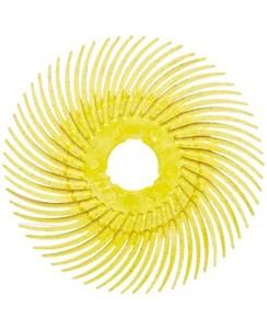 Купить 61500147972 RB-ZB Круг полимерный Scotch-Brite Bristle, радиальный, тип С, d19мм, желтый, Р80 - Vait.ua