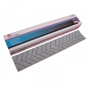 Купить 30623 Абразивная полоса пурпурная  3M 334U Hookit™ Purple+ мультидырочная, 70мм х 396мм, Р80 - Vait.ua