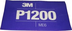 Купить 34342 3M™ Гибкий полировальный абразивный лист CROW Hookit™ 140 мм x 171 мм, P1200 - Vait.ua