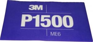 Купить 34343 3M™ Гибкий полировальный абразивный лист CROW Hookit™ 140 мм x 171 мм, P1500 - Vait.ua