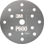 34419 3M™ Гибкий матирующий абразивный диск CROW, d150 мм, P600