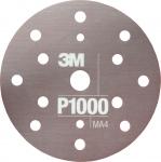 34421 3M™ Гибкий матирующий абразивный диск CROW, d150 мм, P1000