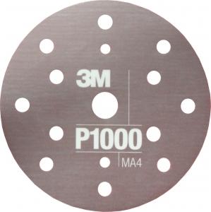 Купить 34421 3M™ Гибкий матирующий абразивный диск CROW, d150 мм, P1000 - Vait.ua