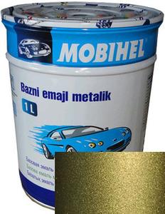"""Купить 370 Автоэмаль базовая """"металлик"""" Helios Mobihel """"Корсика"""", 1л - Vait.ua"""