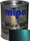 "385 Базовое покрытие ""металлик"" Mipa ""Изумруд"", 1л"