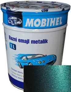 """Купить 385 Автоэмаль базовая """"металлик"""" Helios Mobihel """"Изумруд"""", 1л - Vait.ua"""