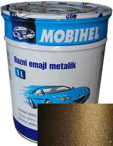 """Купить 399 Автоэмаль базовая """"металлик"""" Helios Mobihel """"Табак"""", 1л - Vait.ua"""