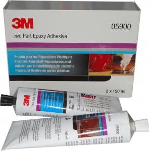 Купить 05900 Клей для ремонта пластика 3M FPRM 2-х компонентный, 150мл+150мл - Vait.ua