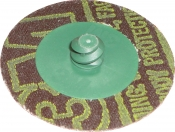 Фибровый диск Green Corps, крепление Roloc, d 50мм, P50