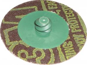 Купить Фибровый диск Green Corps, крепление Roloc, d 50мм, P50  - Vait.ua