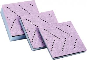 Купить 05699 Набор мягких оправок разной толщины с креплением Hookit™ 3M™ для пурпурных абразивных рулонов, 70мм х 70мм (3 шт.) - Vait.ua