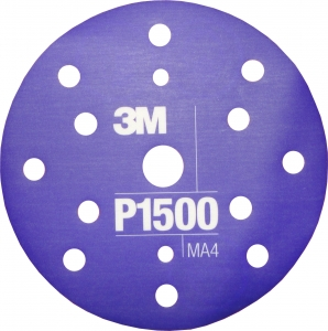 Купить 34423 3M™ Гибкий полировальный абразивный диск CROW, d150 мм, P1500 - Vait.ua