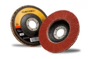 Купить 65062 Круг лепестковый торцевой конический 3M™ Cubitron™ II 967A, 180мм х 22мм, G80 - Vait.ua