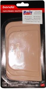 Купить 00357 Набор шпателей 3M для нанесения и смешивания шпатлевки (3 шт./комплект) - Vait.ua