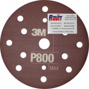 Купить 34420 3M™ Гибкий матирующий абразивный диск CROW, d150 мм, P800 - Vait.ua