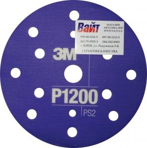 Купить 34422 3M™ Гибкий матирующий абразивный диск CROW, d150 мм, P1200 - Vait.ua