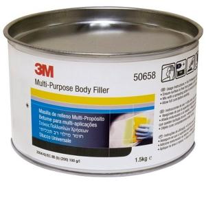 Купить Шпатлёвка универсальная 3M™ Body Filler Kit с отвердителем (+ шпатель), 1,5 кг - Vait.ua