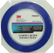 06405 Виниловая лента 3M™ 471+ 6мм х 33м 70ºC, синяя