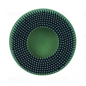 Купить 07524 RD-ZB Диск-щетка для 3M Roloc™ Scotch-Brite™ Bristle, полимерный, зелёный, 50мм, Р50 - Vait.ua