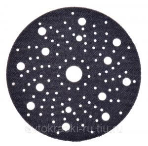 Купить 51126 Мягкая мультидырочная подложка-переходник 3M™ Soft Interface Pad для дисков 3M™ Hookit серии Montana, 5мм, 150мм - Vait.ua