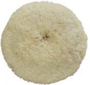 Полировальный круг CARFIT из крученой шерстяной нити, диаметр 180мм (на липучке)