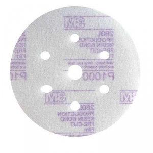 Купить 50242 Микротонккий абразивный полировальный диск 3M™ Hoоkit серия Purple 260L, конфигурация LD601A, диам. 150 мм, Р600 - Vait.ua