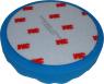 50388 Поролоновый полировальный круг 3M Perfect-It рельефный синий, диам. 150мм