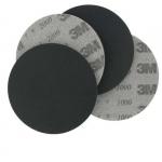 50591 Абразивный полировальный круг на вспененной основе 3M, диам. 150мм, P1000