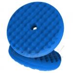 50708 Двухсторонний поролоновый полировальный круг 3M 216мм, рельефный, синий QC