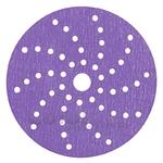 51221 Мультидырочный пурпурный абразивный диск 3M™ Hoоkit 737U Cubitron II Purple Multihole, диам. 150 мм, конфиг. LD056A, Р80+