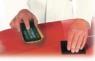 05526 Мягкая ручная оправка для водостойкой шкурки №20, 67х133мм