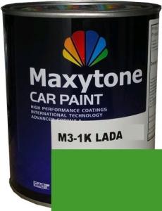 """Купить 5835 Акриловая автоэмаль Maxytone 2К Acryl Autolack """"Зеленая"""" в комплекте с отвердителем - Vait.ua"""