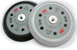 Купить 59000 Оправка для абразивных кругов (дисков) 3M™ Hookit, 5/16, диаметр 150мм, жесткая конфигурация LD601А Direct Flow, 7 отверстий - Vait.ua