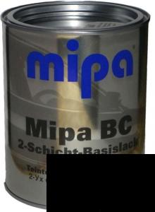 """Купить 600 Базовое покрытие """"металлик"""" Mipa """"Черный"""", 1л - Vait.ua"""
