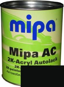 """Купить 601 Акриловая 2К автоэмаль Mipa """"Черный"""" в комплекте с отвердителем - Vait.ua"""