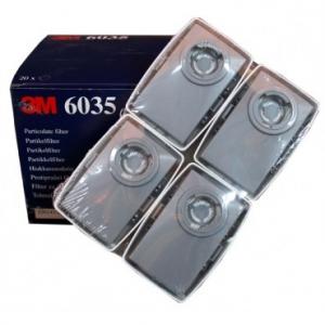 Купить 3M™ 6035 Р3 Противоаэрозольный фильтр повышенной эффективности, пластиковый корпус - Vait.ua